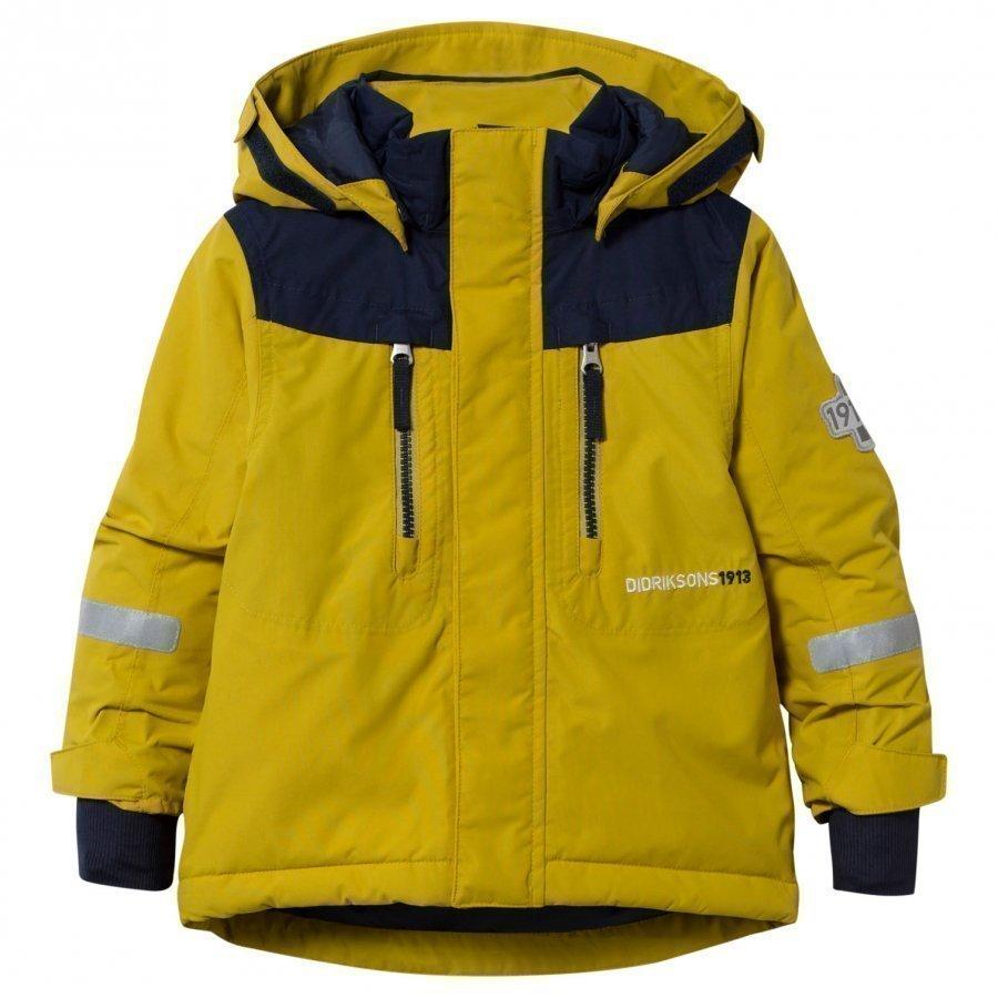 Didriksons Hamres Kid's Jacket Sunburst Toppatakki