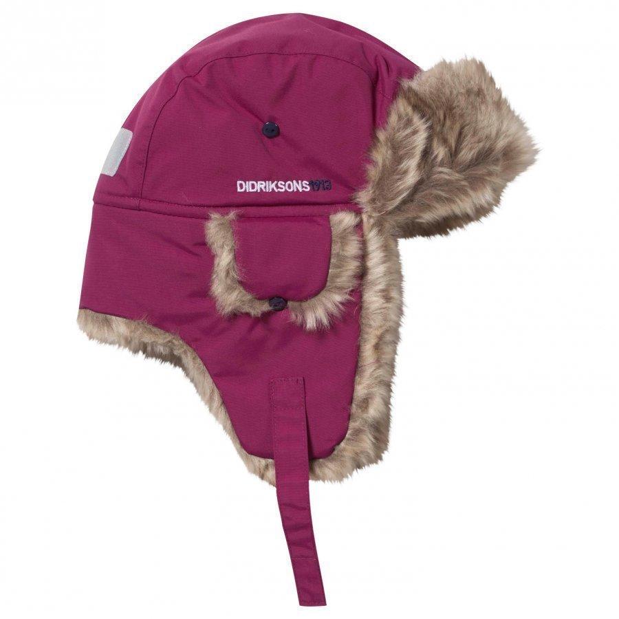 Didriksons Helge Kid's Hat Dark Lilac Korvalapullinen Päähine