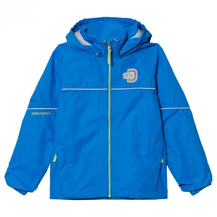Didriksons Jarkos Kids Jacket Sharp Blue Kuoritakki