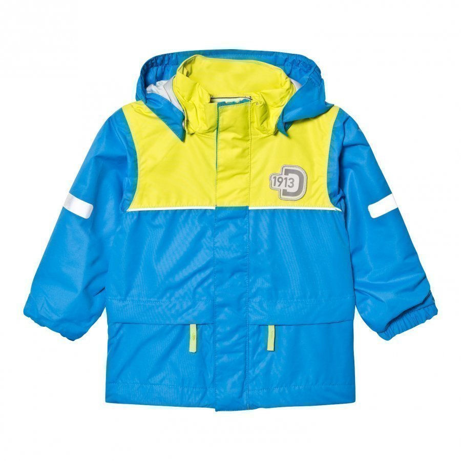 Didriksons Jezeri Kids Jacket Sharp Blue Kuoritakki