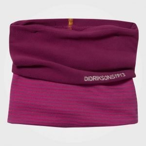 Didriksons Kid's Fleece Tube Scarf Dark Lilac Villahuivi