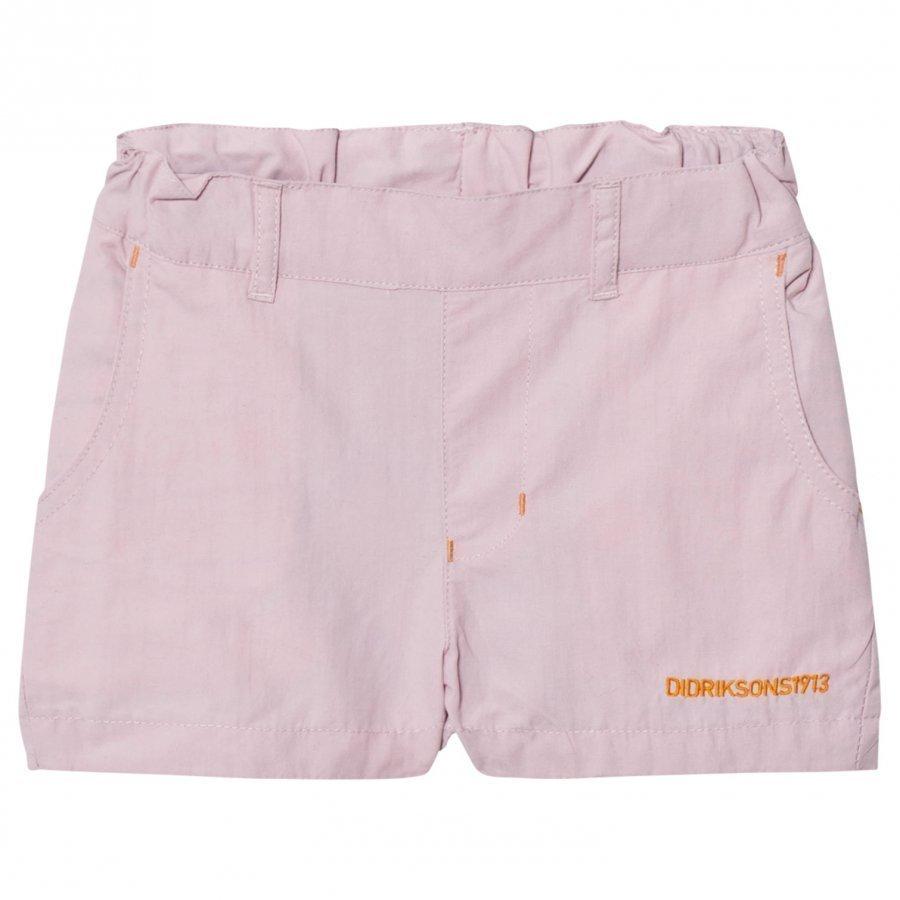 Didriksons Måsen Kids Shorts Dusty Pink Urheilushortsit