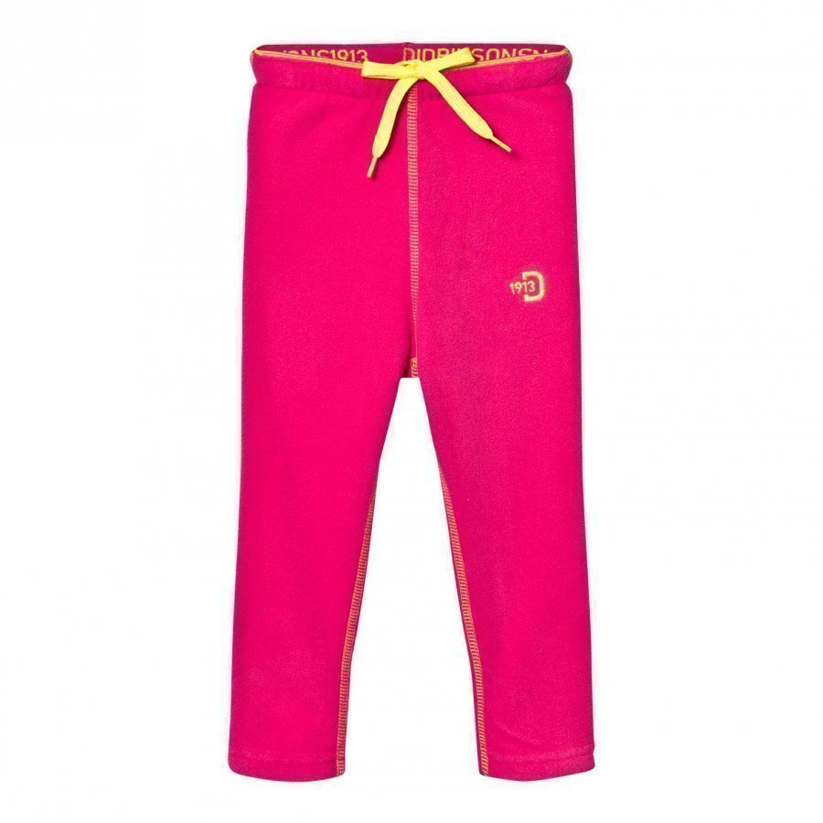 Didriksons Monte Kids Fleece Pants Fuchsia Fleece Housut