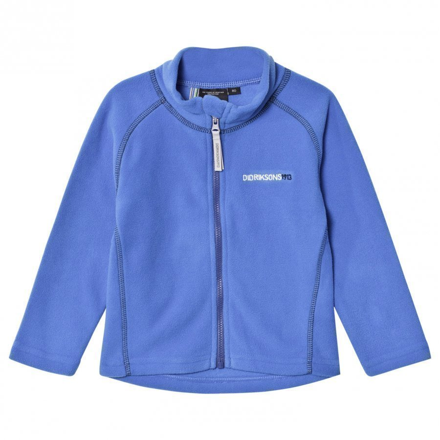 Didriksons Monte Kids Jacket 2 Indigo Blue Fleece Takki