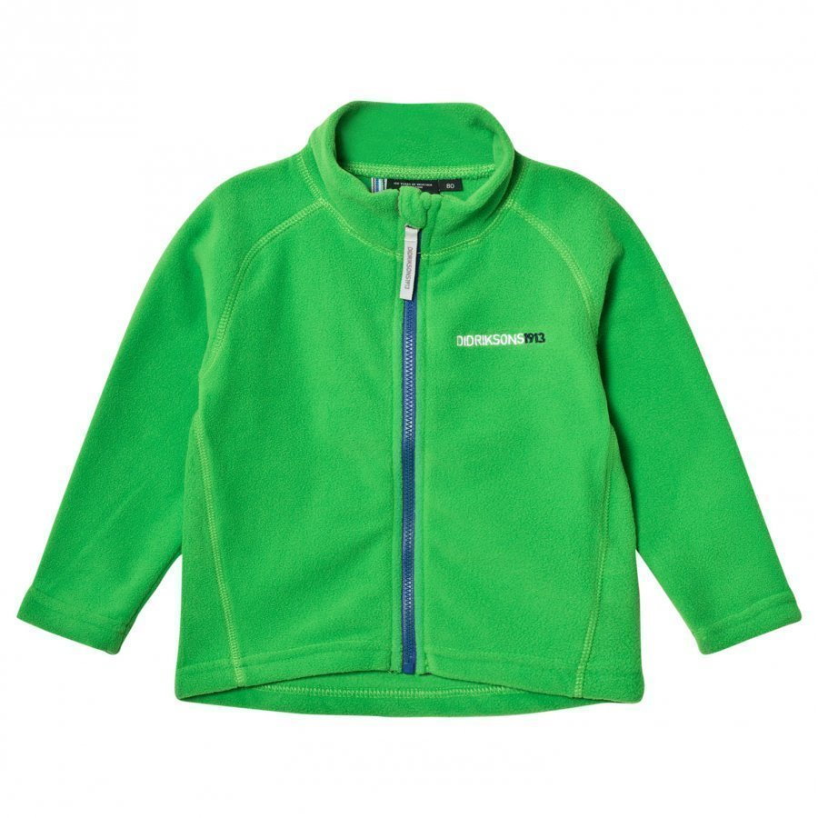 Didriksons Monte Kids Jacket 2 Kryptonite Fleece Takki