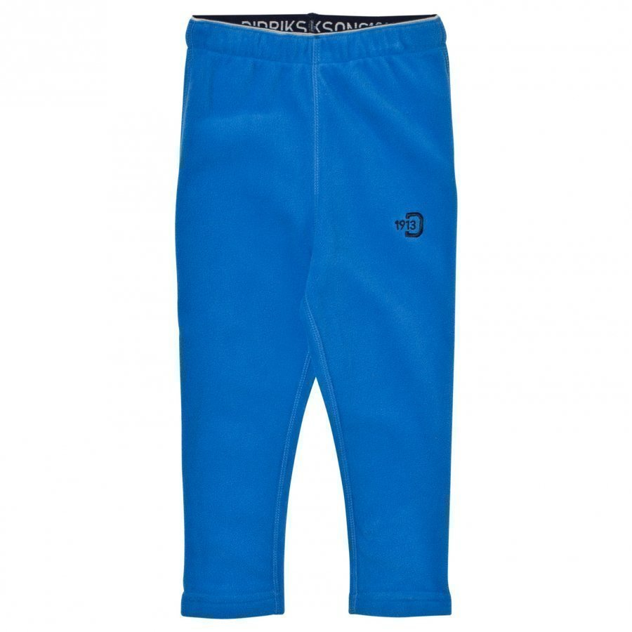 Didriksons Monte Kids Pants 2 Indigo Blu Fleece Housut