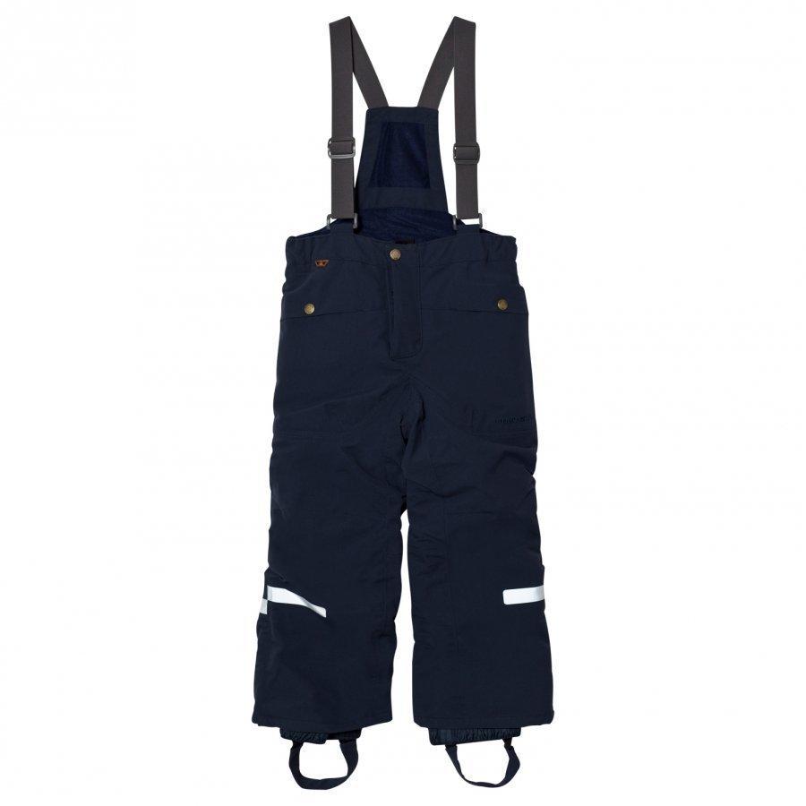 Didriksons Mossa Kids Pants Navy Toppahousut