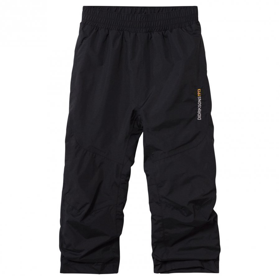 Didriksons Nobi Kid's Pants Black Toppahousut