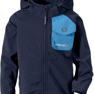 Didriksons Otego Kid's Jacket Softshell Takki Navy