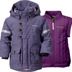 Didriksons Parka 2-in-1 Odina Dusty Purple