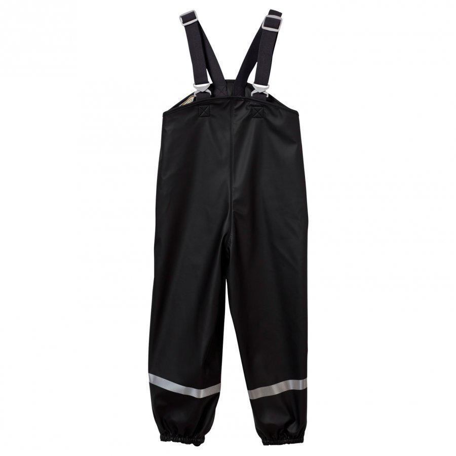 Didriksons Plaskeman Pants Black Sadehousut