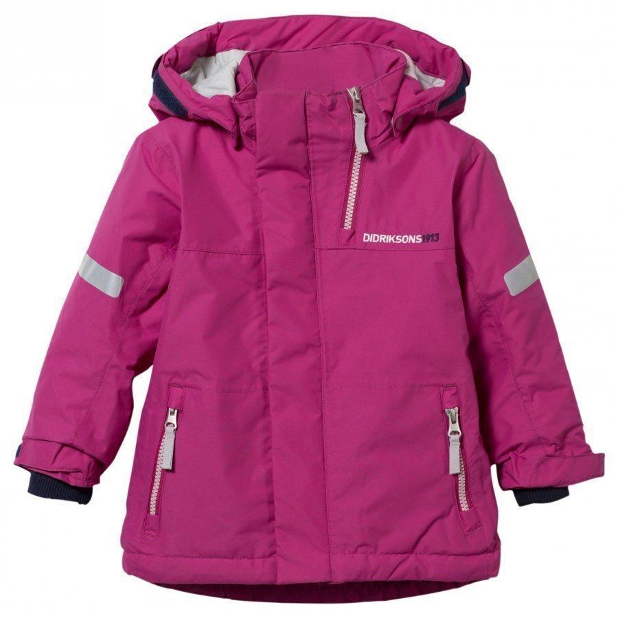 Didriksons Rovda Kid's Jacket Lilac Toppatakki