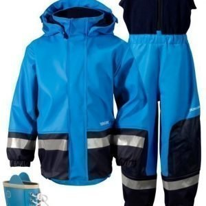 Didriksons Sadeasu vuorilla + Kumisaappaat Boardman Sharp Blue Paketti