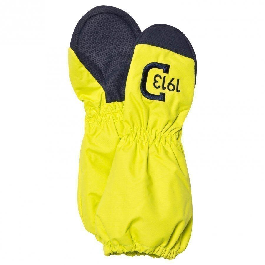 Didriksons Shell Kids Gloves Maize Green Saderukkaset