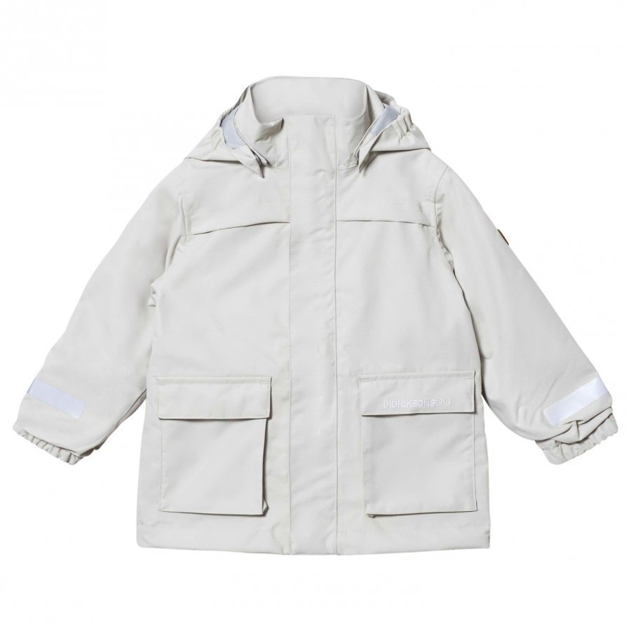 Didriksons Sillen Kids Jacket Light Khaki Kuoritakki