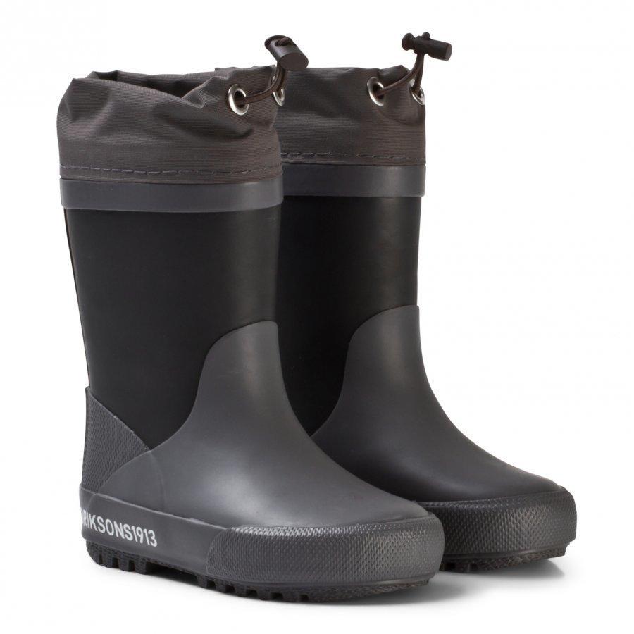 Didriksons Slush Kids W Boots Black Kumisaappaat