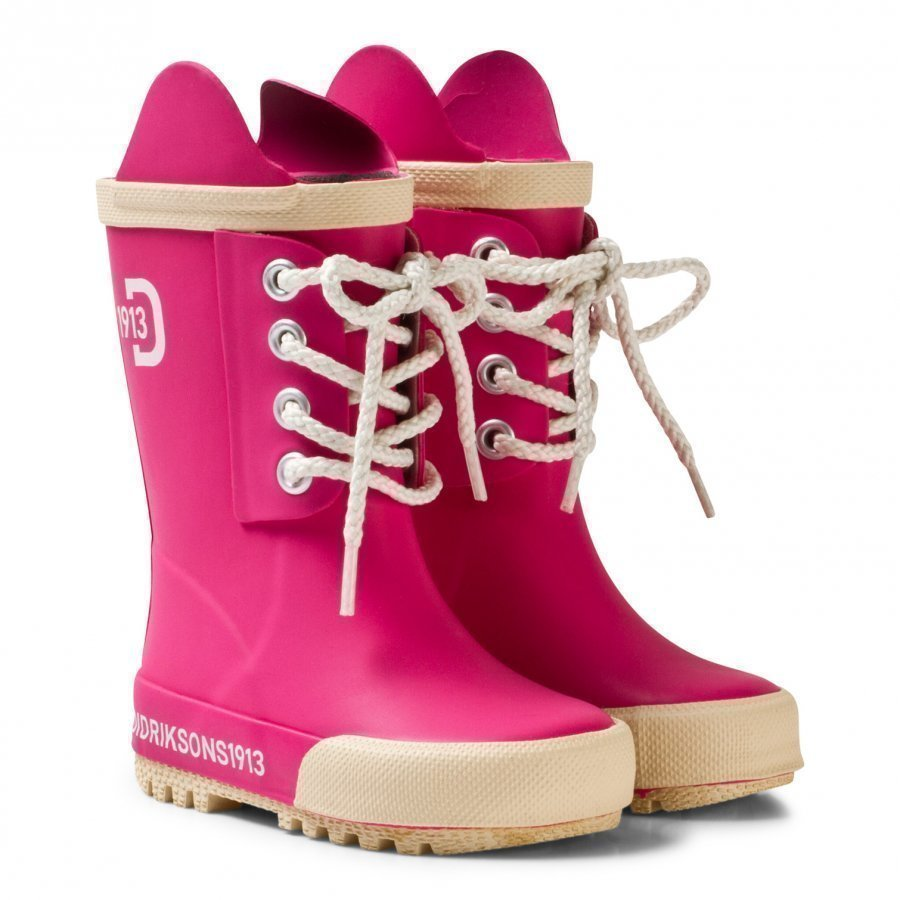 Didriksons Splashman Kid's Boots Fuchsia Kumisaappaat