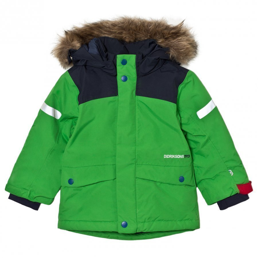 Didriksons Storlien Kid´S Jacket Kryptonite Toppatakki