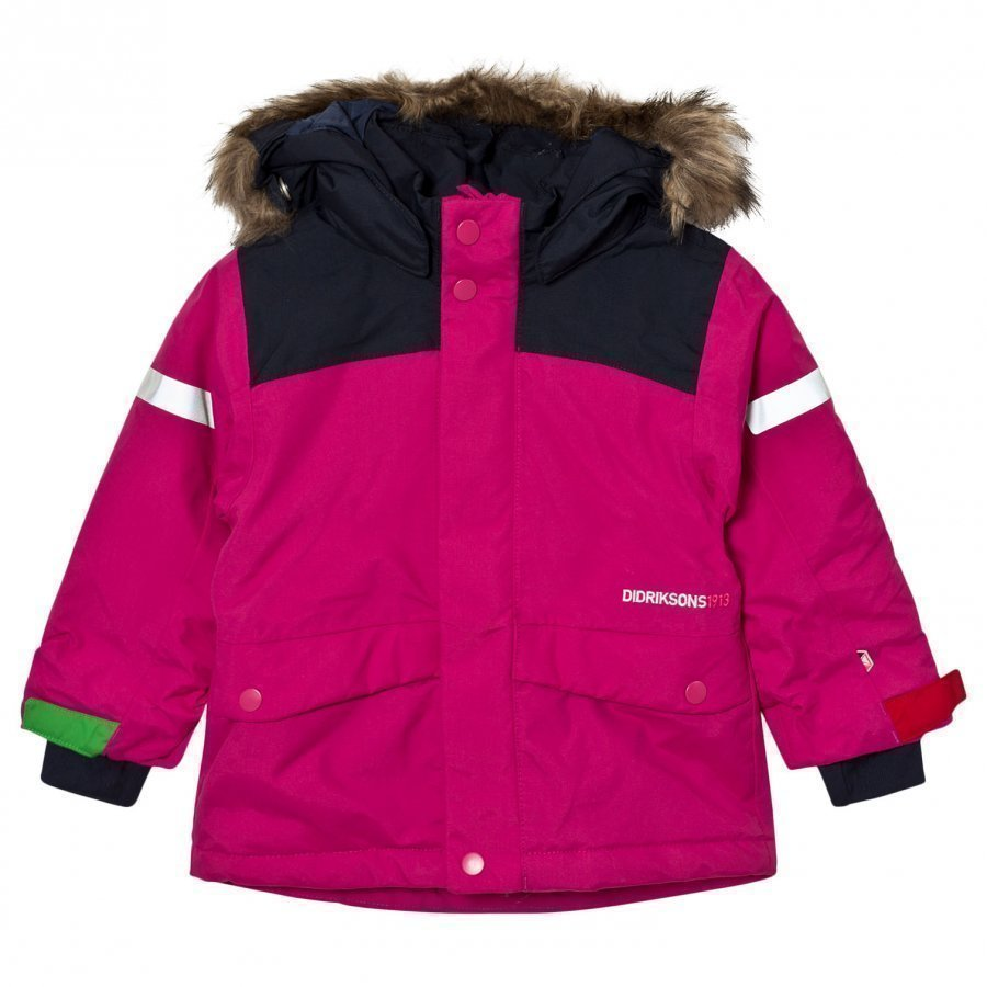 Didriksons Storlien Kid´S Jacket Lilac Toppatakki