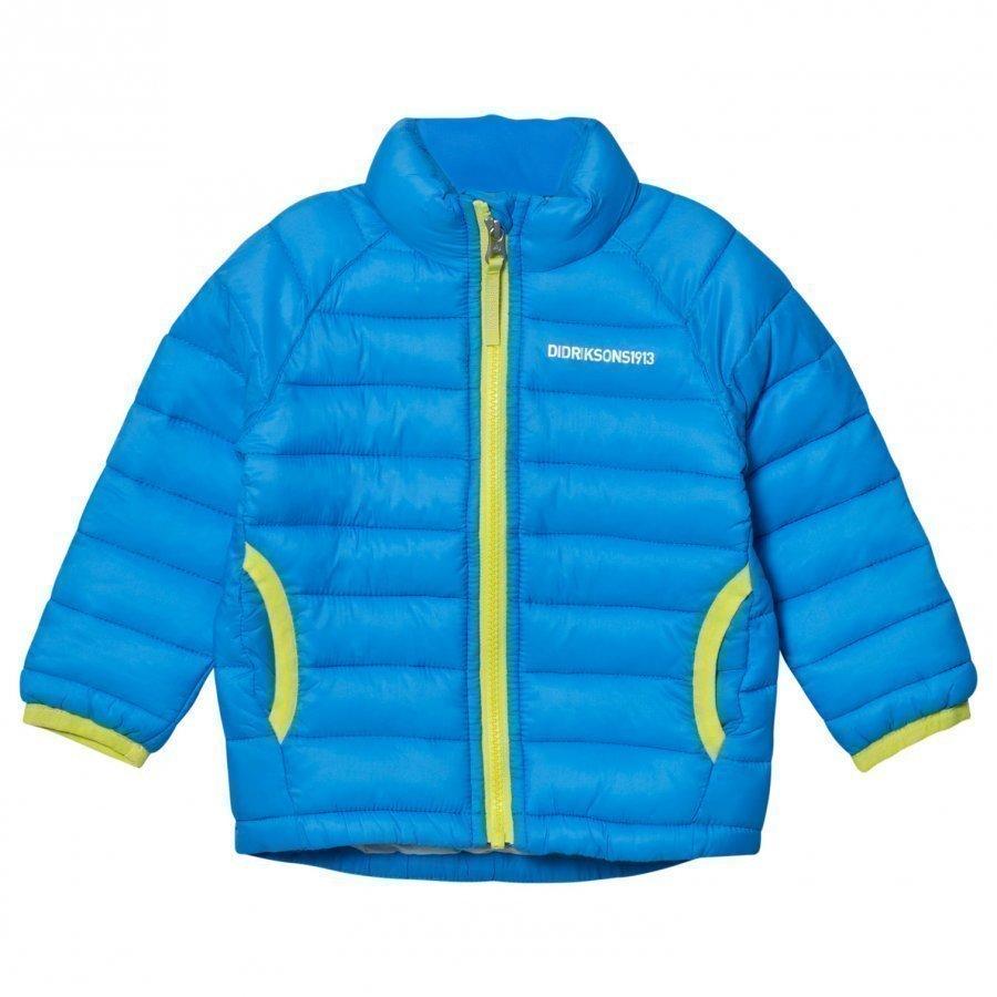 Didriksons Umlali Kids Puffer Jacket Sharp Blue Toppatakki