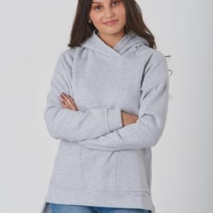 Didriksons Wien Gs Yt Sweater Huppari Harmaa