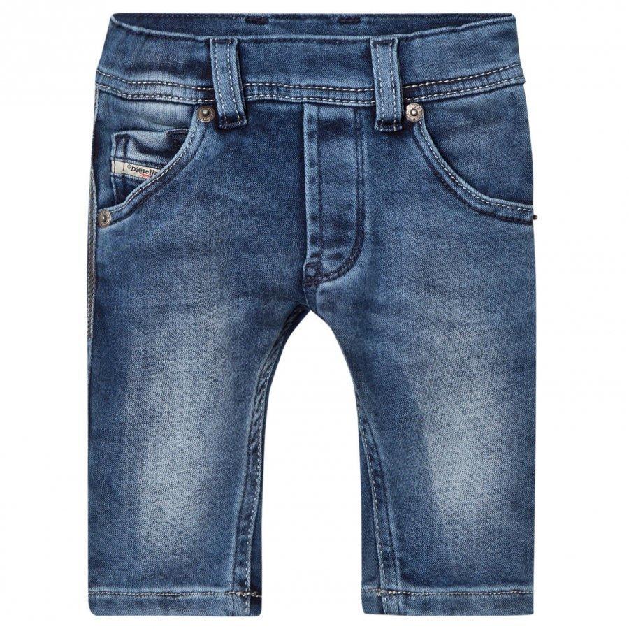Diesel Blue Denim Washed Jeans Farkut