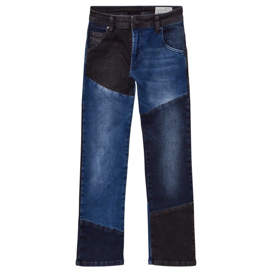 Diesel Blue/Dark Grey 5 Pocket Krooley Jeans Farkut