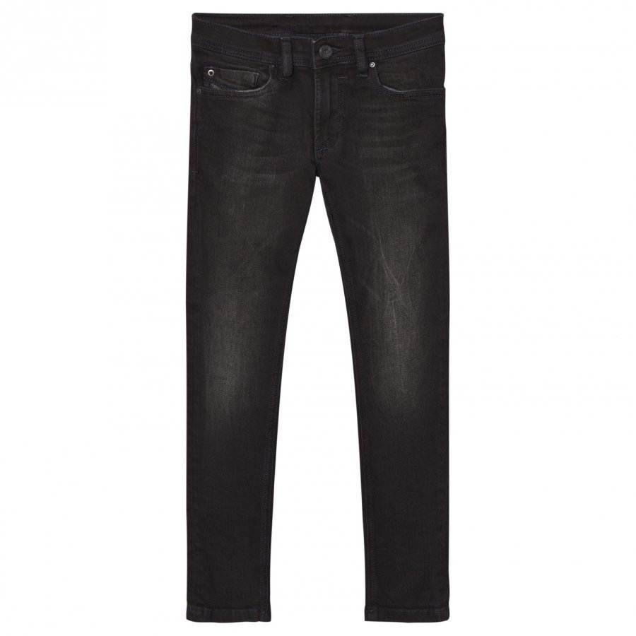 Diesel Dark Grey 5 Pocket Sleenker Slim Skinny Jeans Farkut