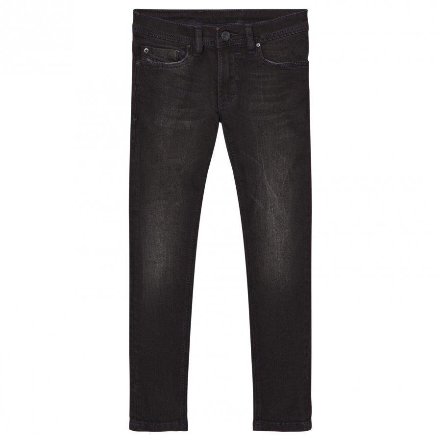 Diesel Dark Grey 5 Pocket Sleenker Slim Skinny Jeans Farkut