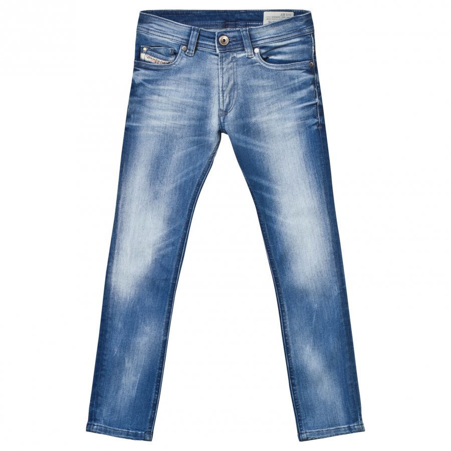 Diesel Light Wash Sleenker Slim Fit Jeans Farkut