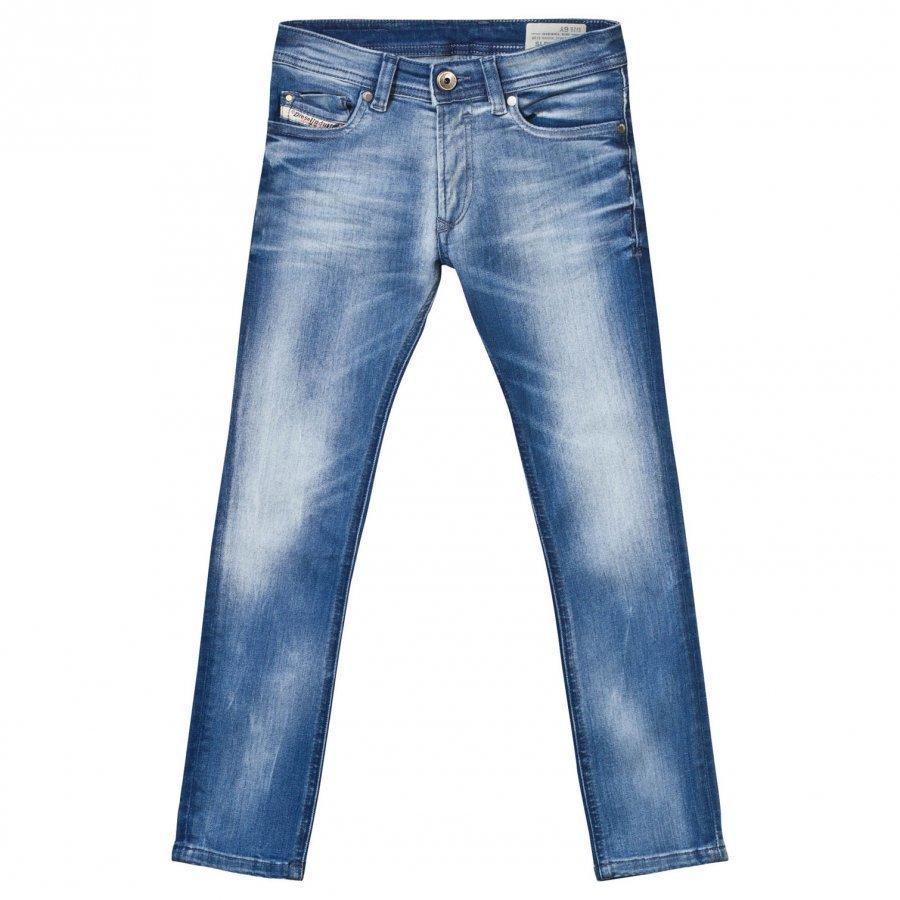 Diesel Light Wash Sleenker Slim Fit Jeans Farkut
