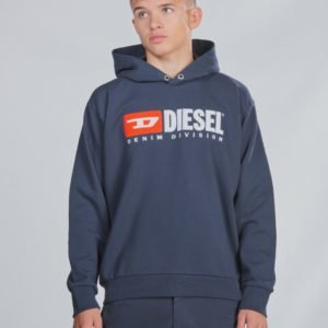Diesel Sdivision Over Sweat Shirt Huppari Sininen