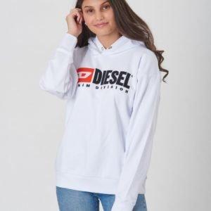 Diesel Sdivision Over Sweat Shirt Huppari Valkoinen