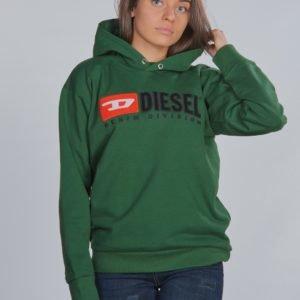 Diesel Sdivision Over Sweat Shirt Huppari Vihreä