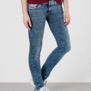Diesel Skinzee Low Trousers Farkut Sininen