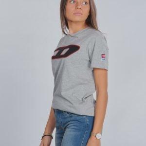 Diesel Tjustdivision D T Shirt T-Paita Harmaa