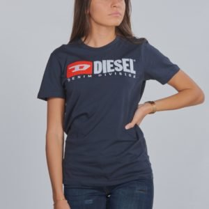 Diesel Tjustdivision T Shirt T-Paita Sininen