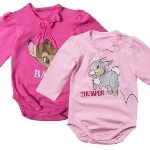 Disney Bambi Body 2 kpl Pink