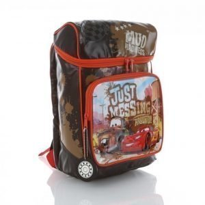 Disney Cars Backpack Mud Madness Reppu Musta