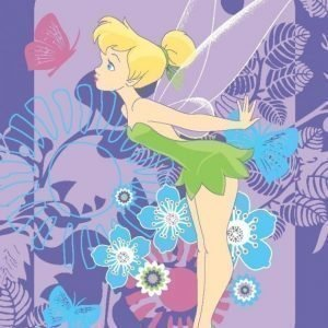 Disney Fairies Matto 95 x 133 cm Tink Tropical