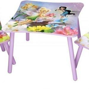 Disney Fairies Pöytä & 2 tuolia
