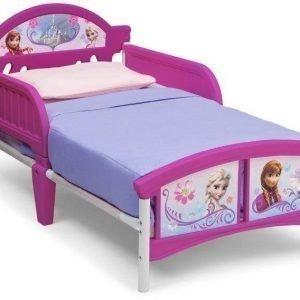 Disney Frozen Juniorisänky 140 x 70 cm Vaaleanpunainen