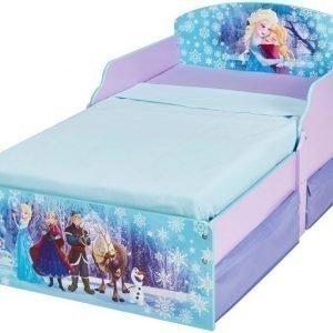 Disney Frozen Juniorisänky säilytystilalla