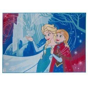 Disney Frozen Let It Go Matto Sininen