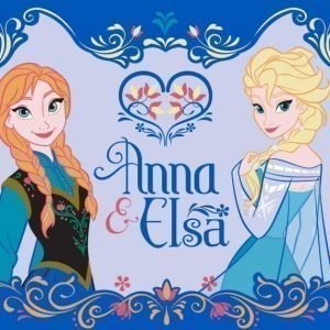 Disney Frozen Matto Anna & Elsa