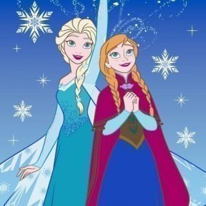 Disney Frozen Matto Lights 95 x 133 cm