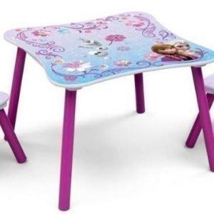 Disney Frozen Pöytä ja kaksi tuolia
