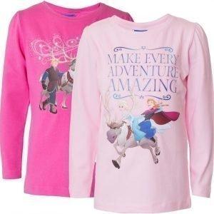 Disney Frozen Pusero 2 kpl Pink