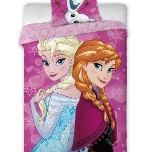 Disney Frozen Pussilakanasetti 150x210 Cm +50x60 Cm