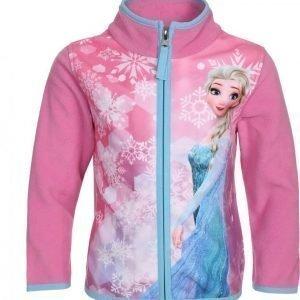Disney Frozen Vetoketjullinen fleecetakki Vaaleanpunainen